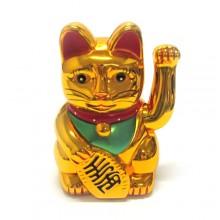 Gato da sorte dourado