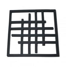 Descanso de panela silicone cinza