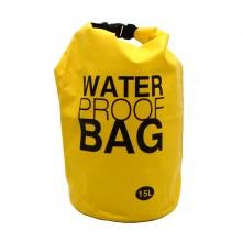 Bolsa à prova d' água amarelo