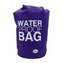 Bolsa à prova d' água roxo